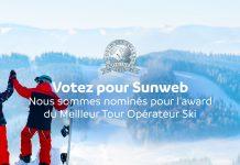 Sunweb meilleur tour opérateur ski au monde