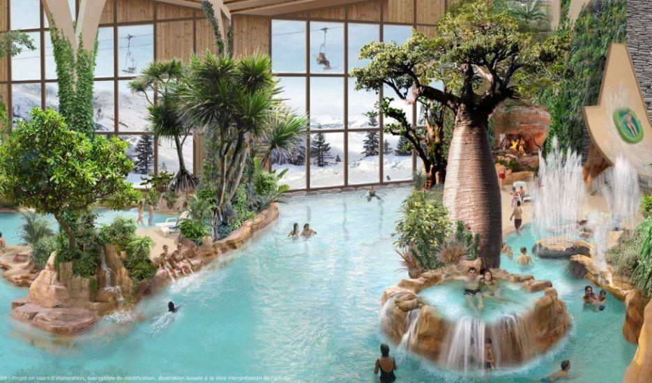 Aquariaz parc aquatique Avoriaz