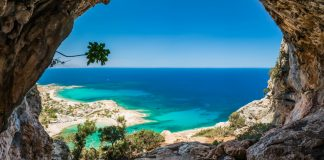 paysage grec -ile greque