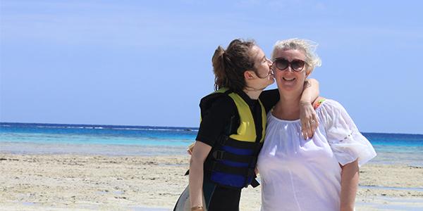 Egypte moeder/dochter vakantie