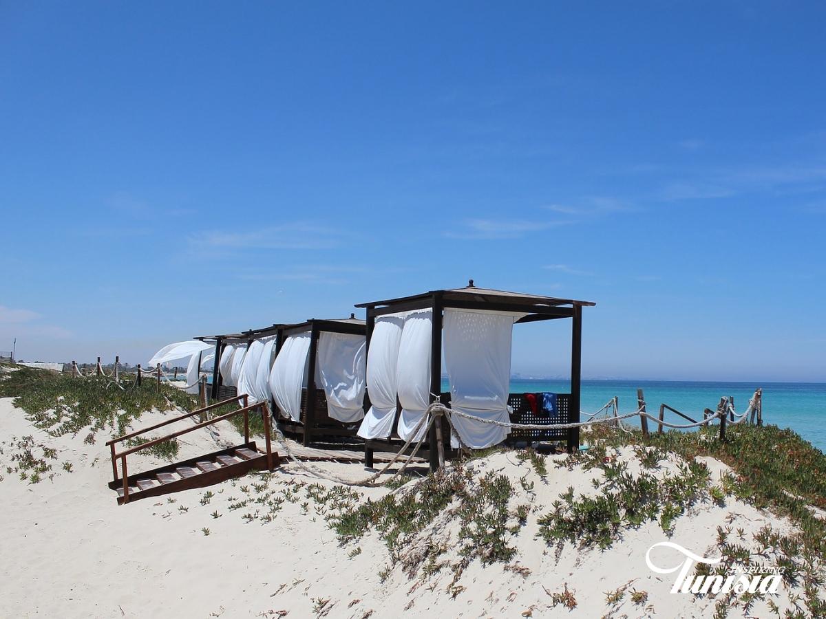 Tunesië parelwitte stranden