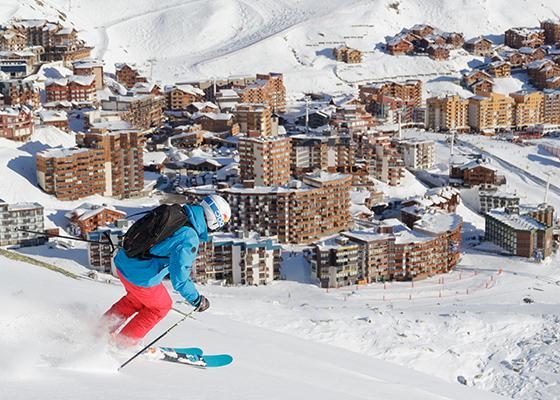 val thorens skigebied frankrijk