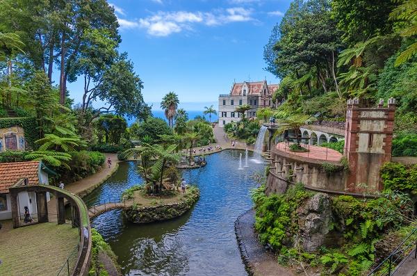 jardin botanique de Monte Palace à Madère