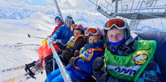 Ski holiday with Children
