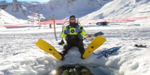 Ice Diving in Val Cenis