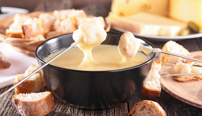 Schweiz fondue