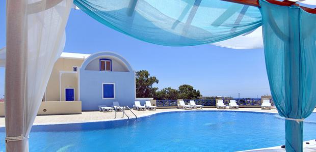 Appartementen Bella Santorini in Perivolos