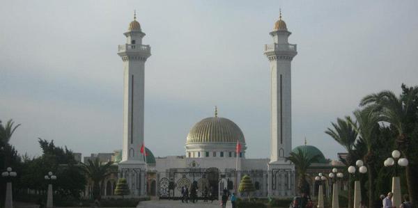 Het Bourguiba mausoleum
