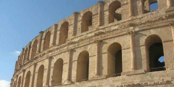 Het amfitheater el Djem