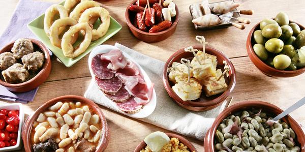 Heerlijke Spaanse tapas