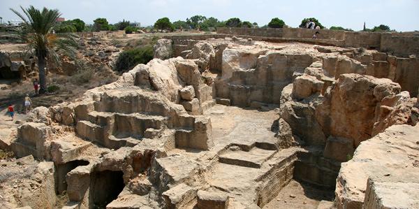 Het oude Turkse fort in Paphos
