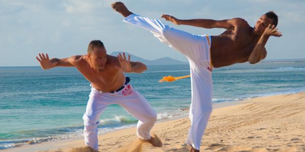 Capoeira Kaapverdie vechtdans