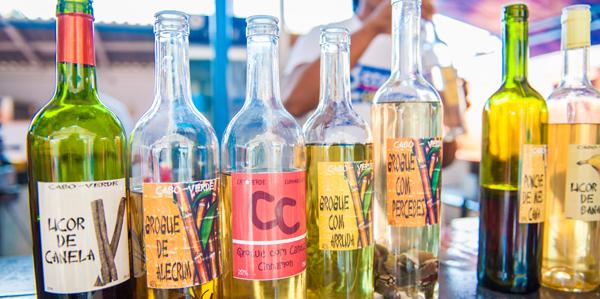 Grogue lokale drank Kaapverdië
