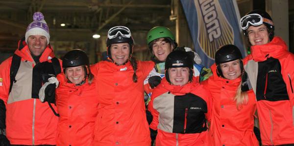 Mentelity Team in Snowworld Zoetermeer