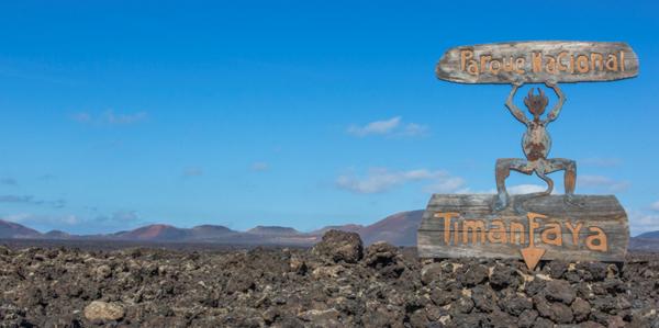 Nationaal Park Lanzarote Timanfaya