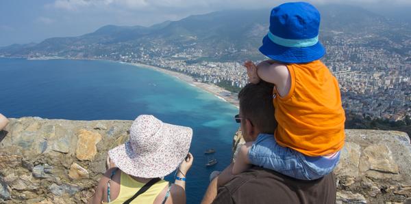 Waanzinnig uitzicht op Alanya