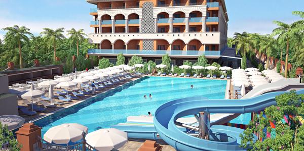Hotel Orange Palace, Side