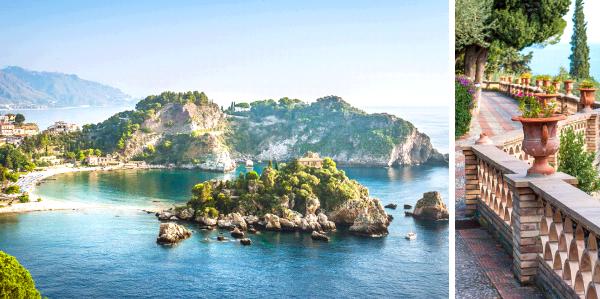 Italië, Sicilië, Toarmina
