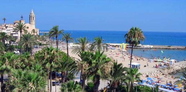 Spanje, Costa del Garraf, Sitges