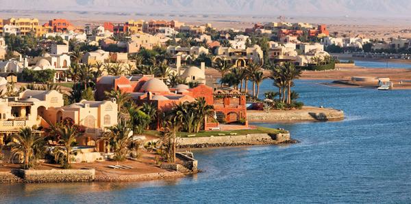 Prachtig El Gouna omgeven door lagunes, woestijn en zee