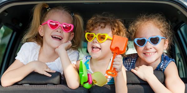 Met de kinderen op vakantie