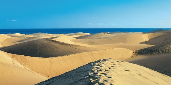 De duinen van Maspalomas, Gran Canaria