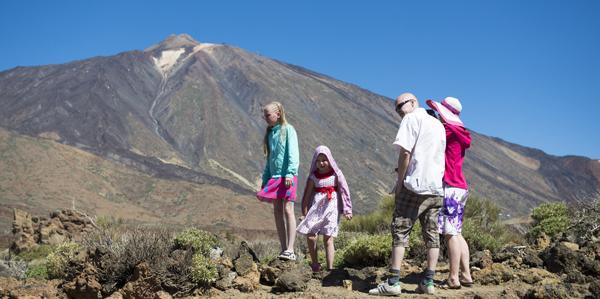 Het hoogste punt van Spanje, Tenerife
