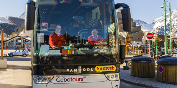 Busreis Sunweb wintersport