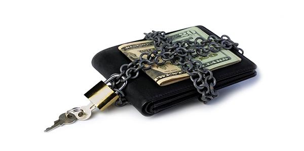 Bewaar je geld en documenten goed!