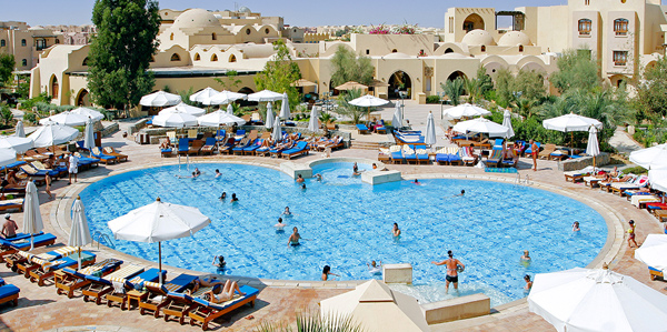 Hotel Three Corners, Rode Zee, Egypte