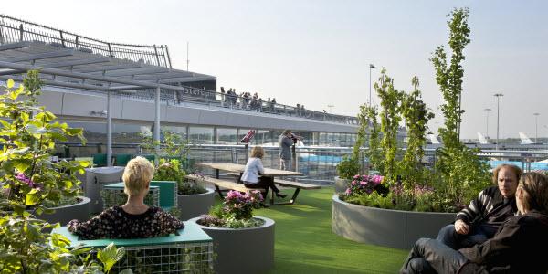 Tips om jezelf te vermaken op Schiphol - Airportpark