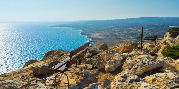 Kustlijn Zuidoost Cyprus