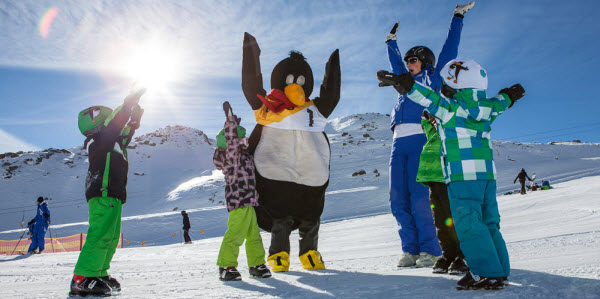 kindvriendelijke wintersport kids