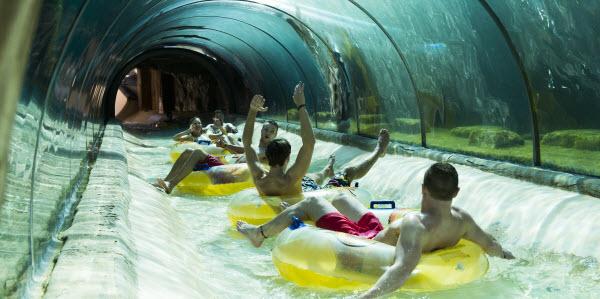 De 10 leukste waterpretparken in Europa - River rafting