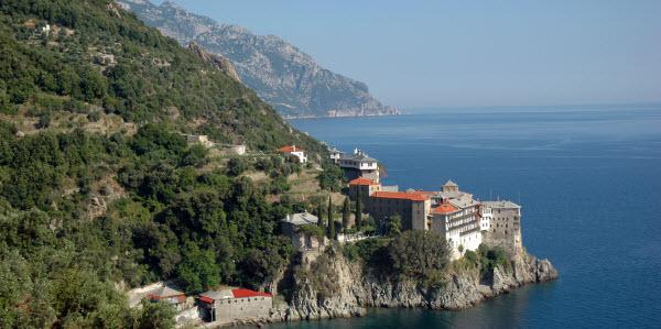 Gregoriat klooster, Mount Athos - Chalkidiki