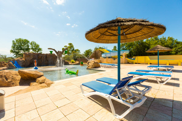 Het zwemparadijs van camping Le Trivoly - Languedoc-Roussillon