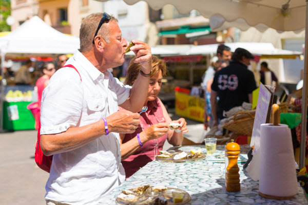 Oesters in Cap d'Agde - Languedoc-Roussillon