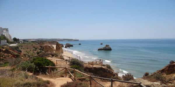 Typisch Portugees - strand Algarve