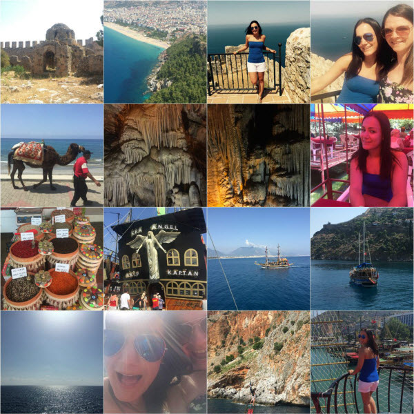 Discover Alanya - collage