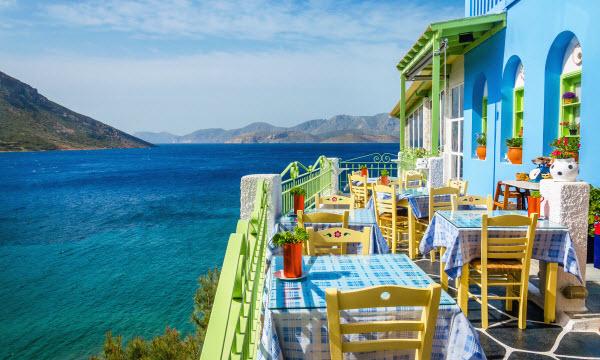 Met de auto door Griekenland - Grieks restaurant