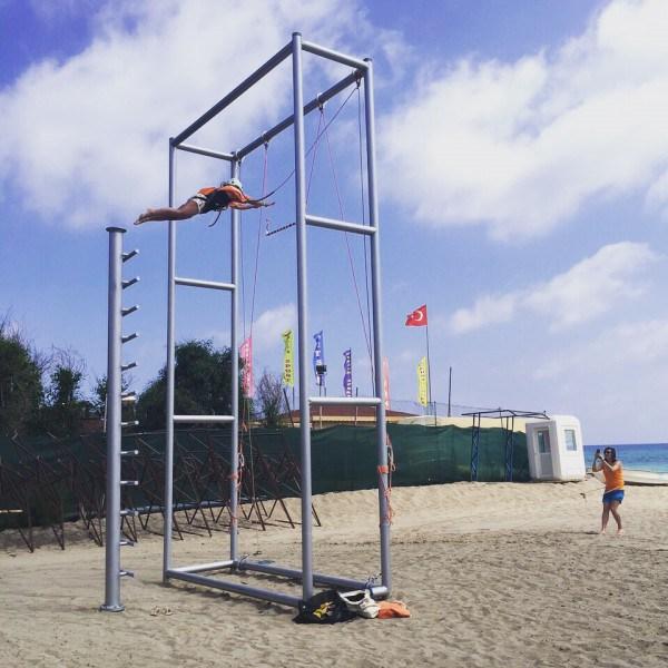 Dare to jump - Trapeze