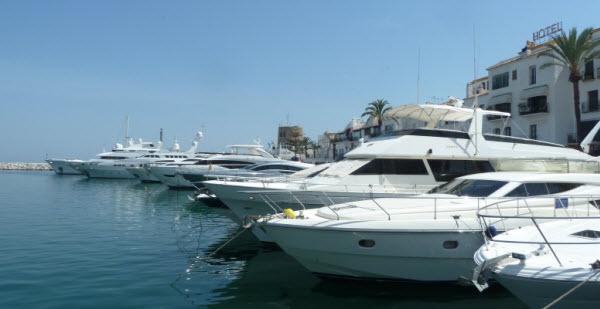 Is het fantastisch aan de Costa del Sol? - haven