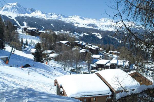 Montchavin-pittoreske wintersportdorpen