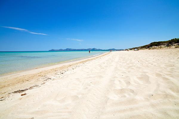 Playa de Muro à Majorque