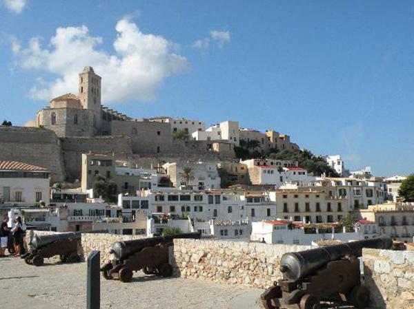 vacances à Ibiza dalt villa