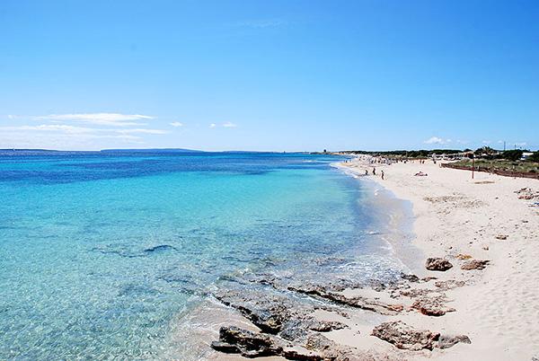 vacances à Ibiza ses salinas