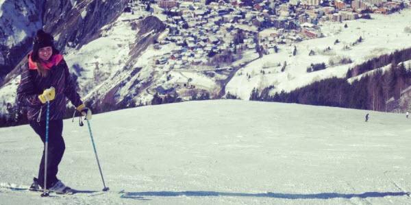 Eshter Les Deux Alpes France Ski Piste