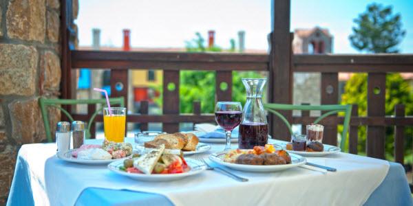 Heerlijk eten op vakantie