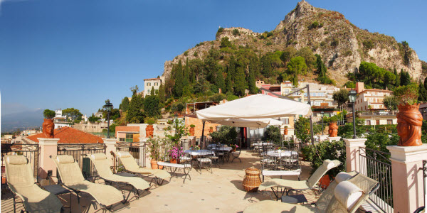 Terrace Casa Turchetti Taormina