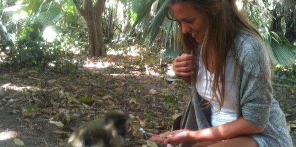 Nina Monkey Farm Gambia